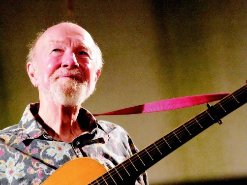 Pete Seeger sings Raghupati Raghav Raja Ram, for RamDas Foundation