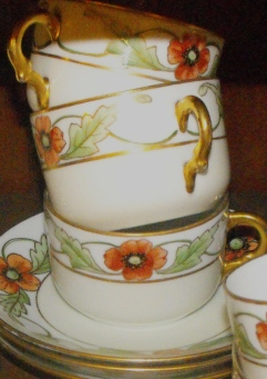 German china, handpainted