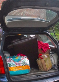 Decluttering can be done gradually. Don't stress about doing it all at once. Just start.