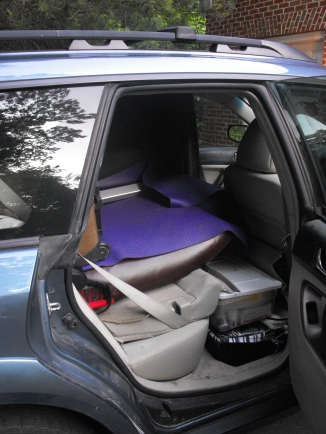 Subaru ready to hit the road