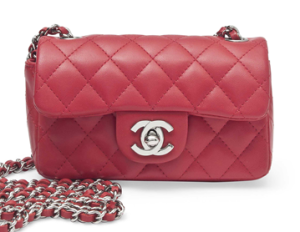 Cherry Red Chanel Bag