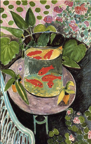 Matisse Gold Fish, 1911,