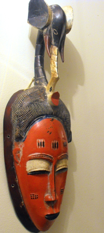 African mask purchased at Leland Little auction